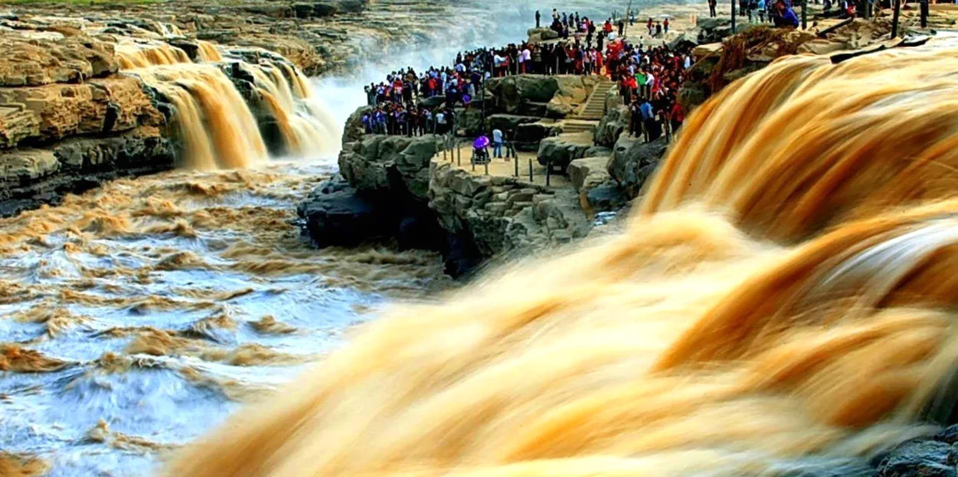 黄河壶口瀑布,延川乾坤湾,靖边波浪谷,甘泉大峡谷8日摄影团