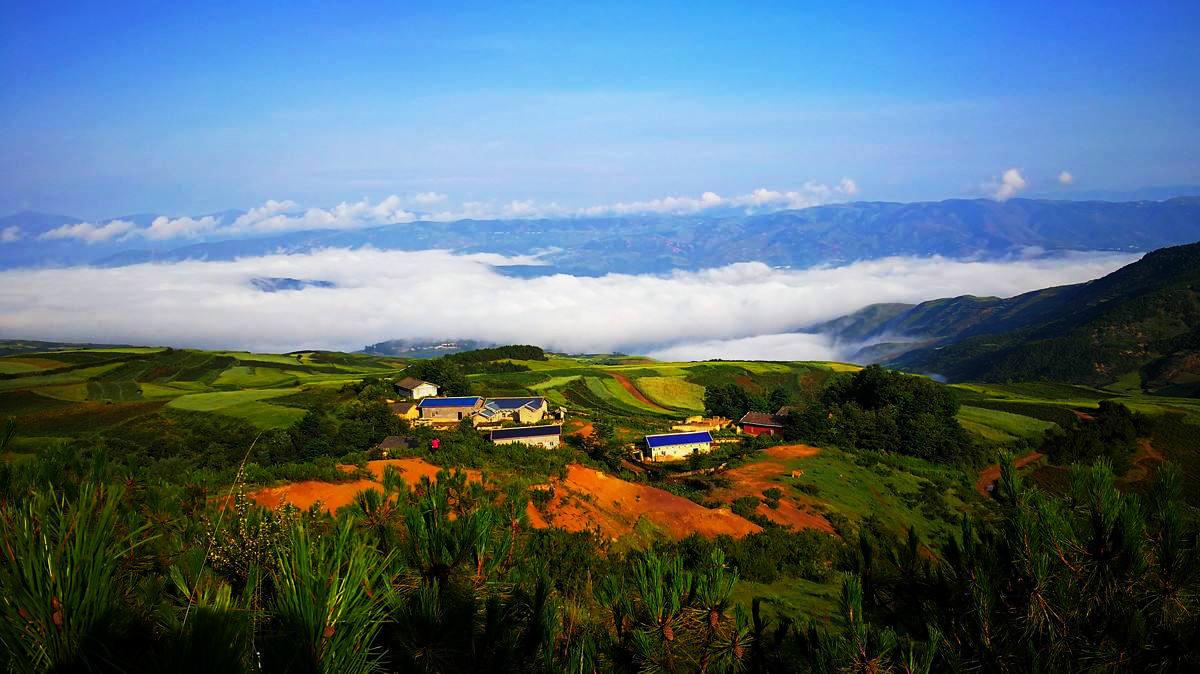 凉山的自然风景